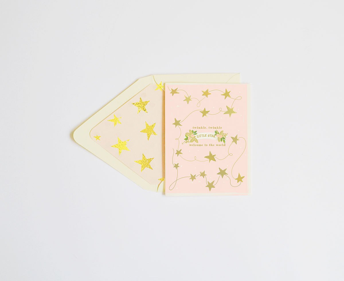 Twinkle Twinkle, Little Star Card - Little Owly