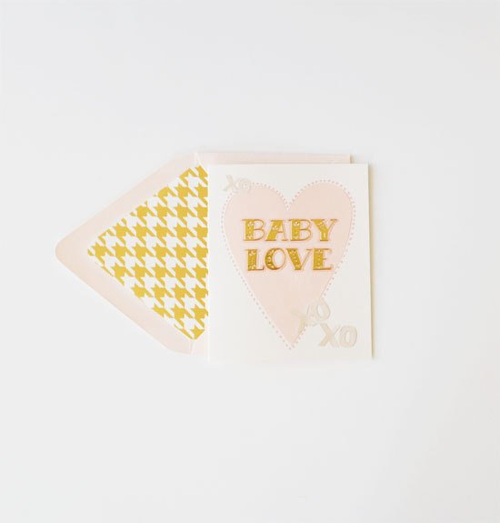 Baby Love Card - Little Owly