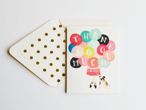 Thank You Card - Little Owly