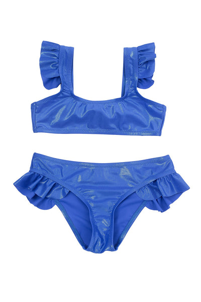 Violetta Metallic Bikini - Little Owly