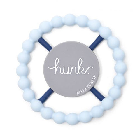 Hunk Happy Teether - Light Blue - Little Owly