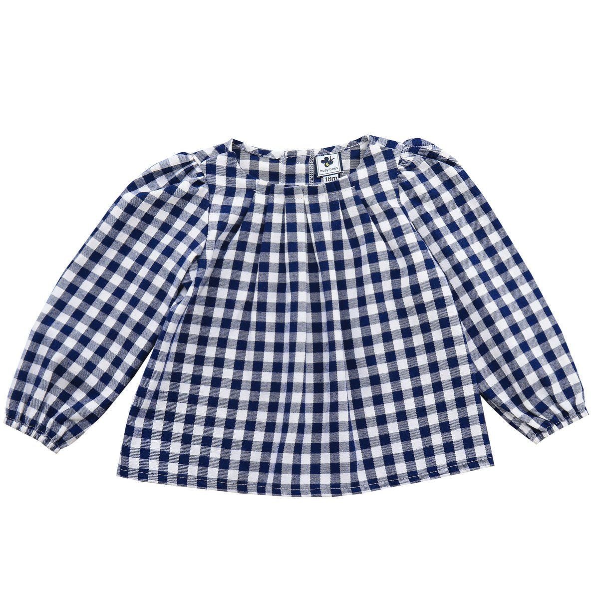 Janey Pleated Blouse - Little Owly