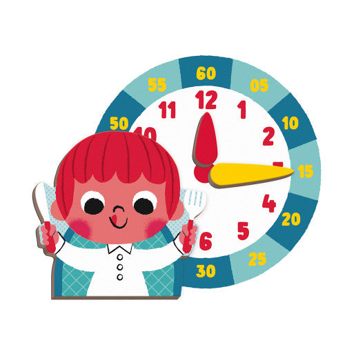 Learn to Tell the Time Magneti'Book - Little Owly