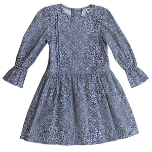 Mila Pin Pleat Drop Waist Dress - Little Owly