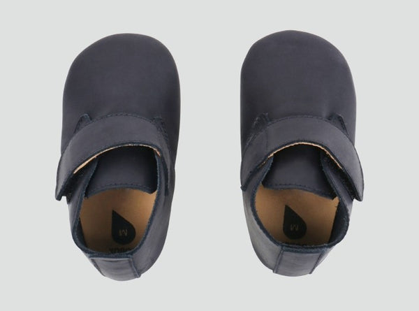 Soft Sole Navy Desert Shoes