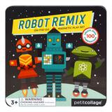 Robot Remix and Match Magnetic Play Set - Little Owly