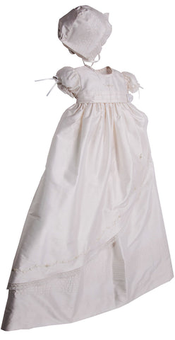 Girl Christening Gown - Little Owly