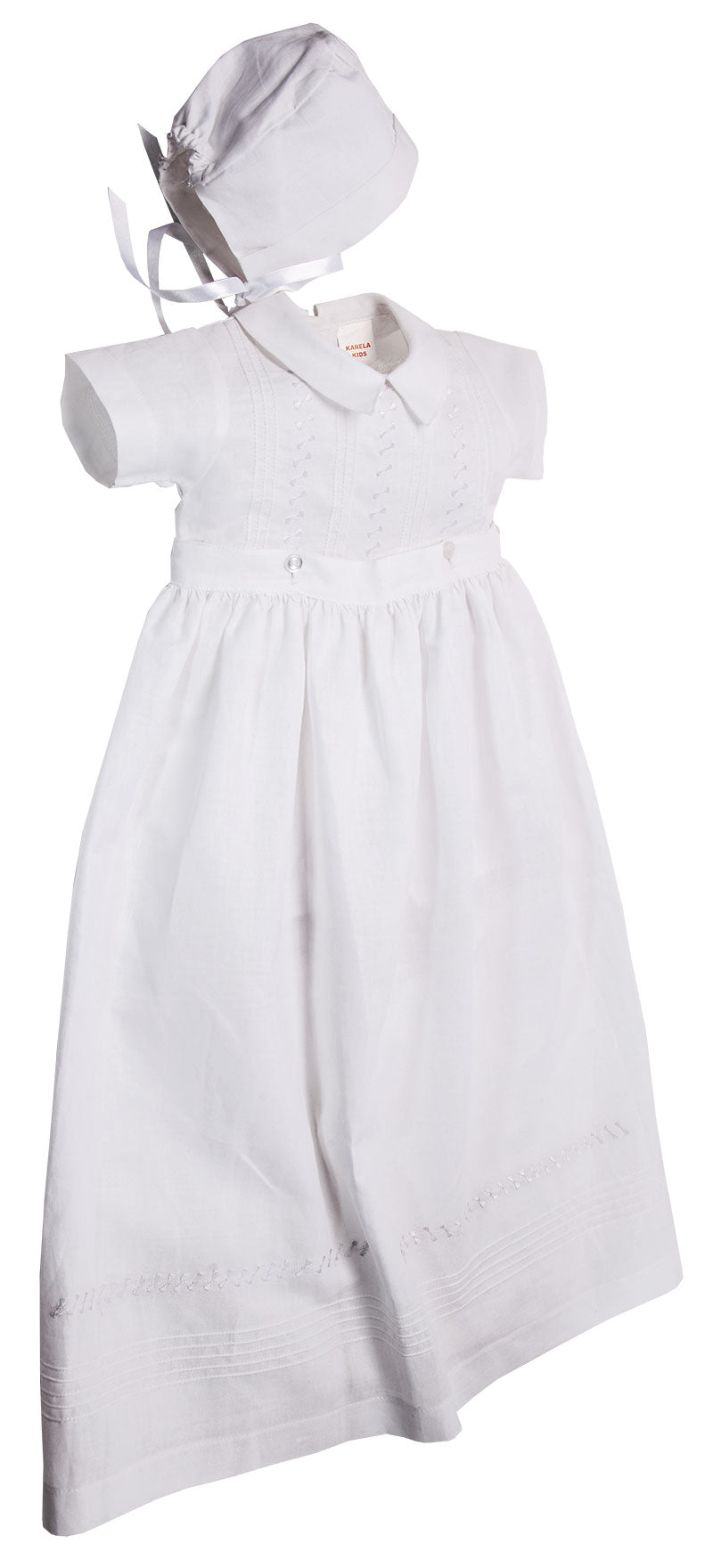 Boy Christening Gown - Little Owly