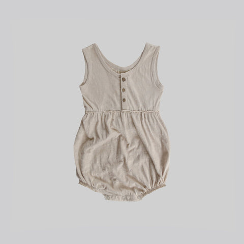 Oat Bubble Romper - Little Owly