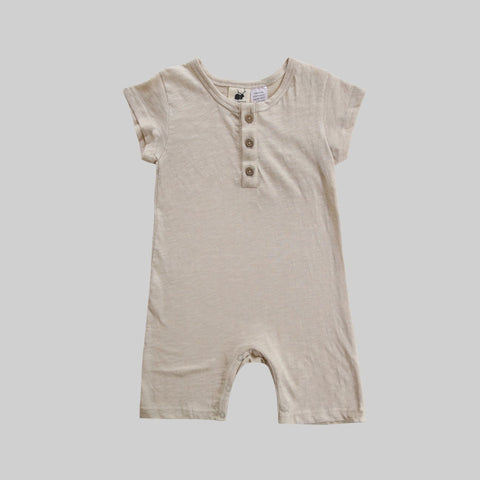 Oat Shorty Playsuit - Little Owly