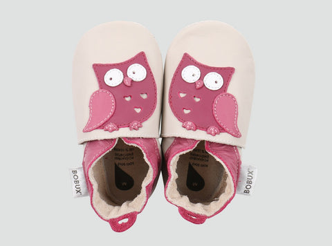 Soft Sole Owl Shoe