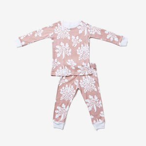 Mauve Parsnip Pajama Set - Little Owly