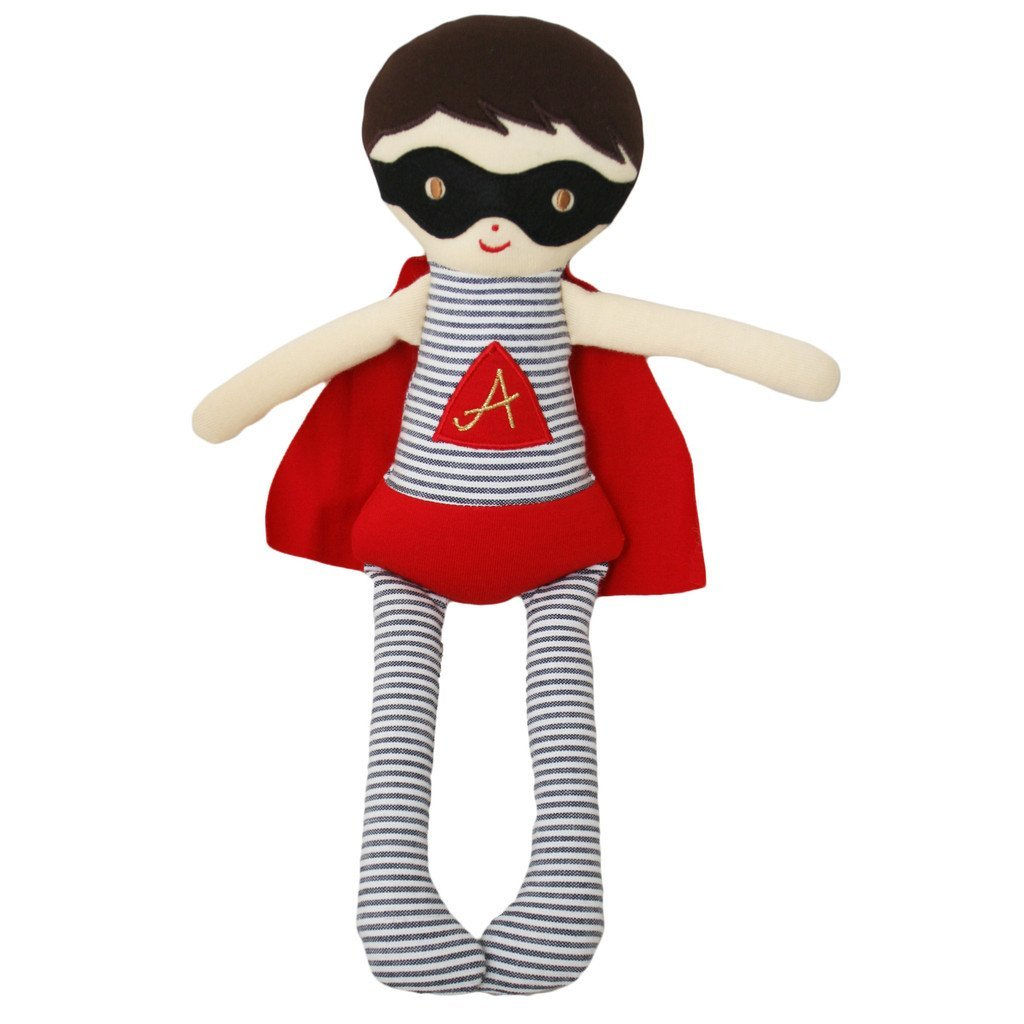 Super Hero Doll Rattle - Little Owly