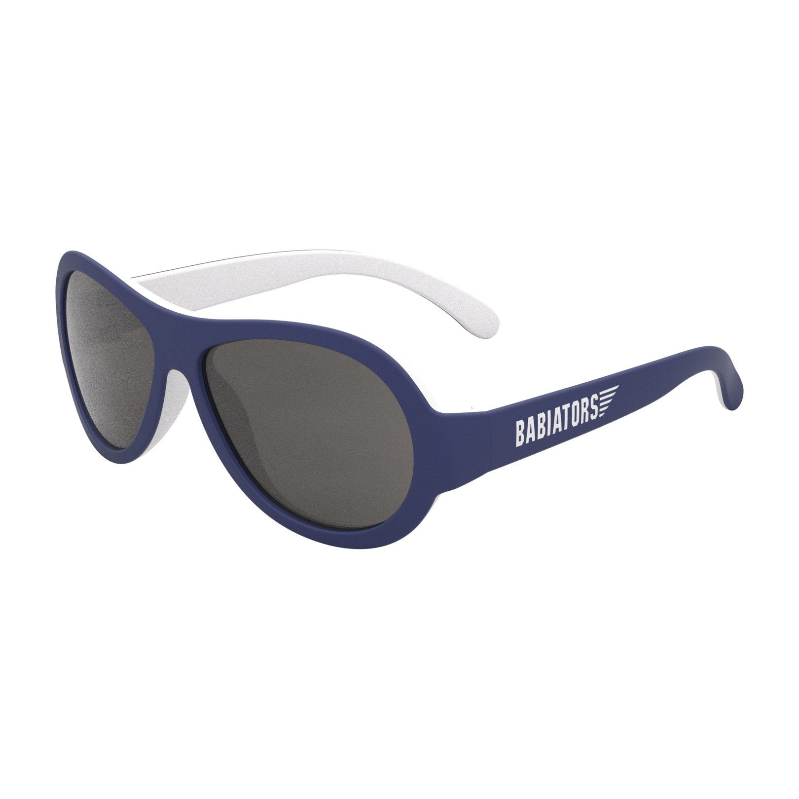 Nautical Navy Two Tone Aviators - Little Owly