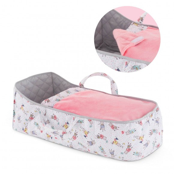 Corolle Baby Doll Carry Bed - Little Owly