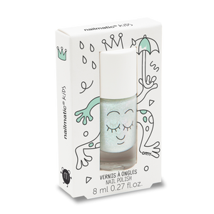 Aldo Pearly Green Water-based Nail Polish for Kids - Little Owly