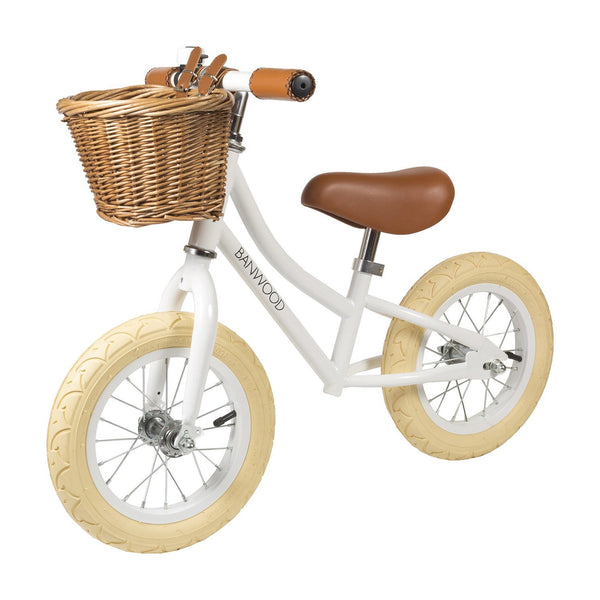 First Go! Balancing Bike - White - Little Owly
