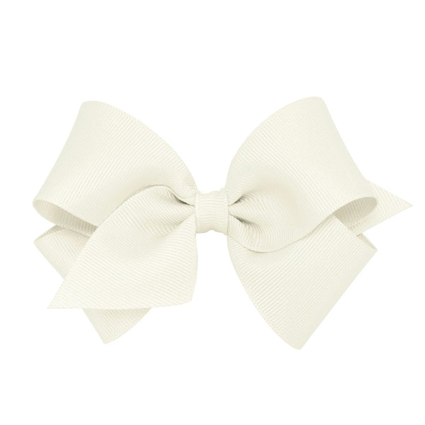 Small Classic Grosgrain Hair Bow - Little Owly