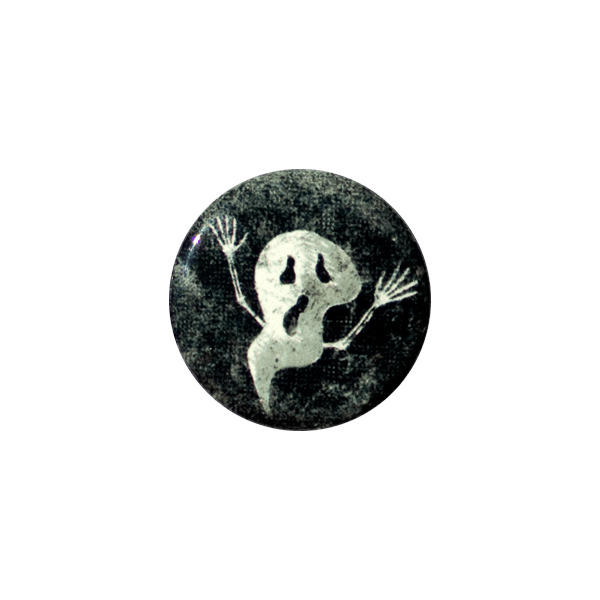 Ghost Button (Glows in the dark!)