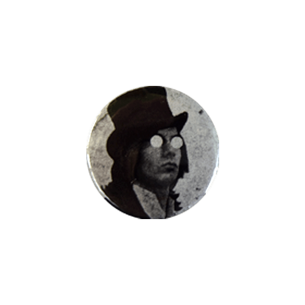 Lonesome Wyatt Button