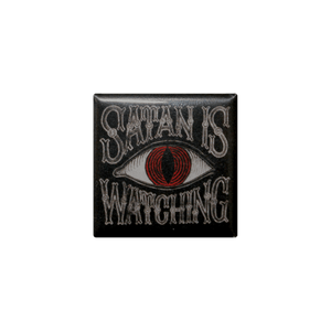 Satan is Watching Button