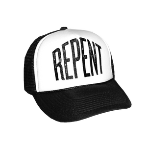 Repent Trucker Hat