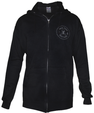Train Skull Zip-Up Hoodie