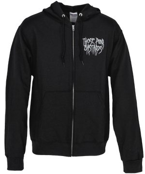 All Is Misery Zip-Up Hoodie
