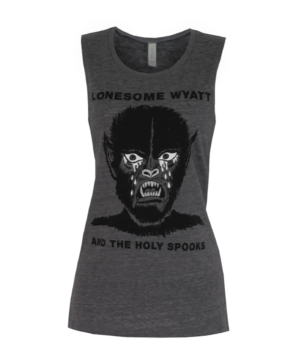 Crying Werewolf Ladies Tank