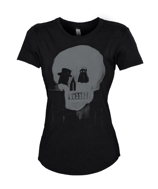 All Is Misery Ladies T-Shirt