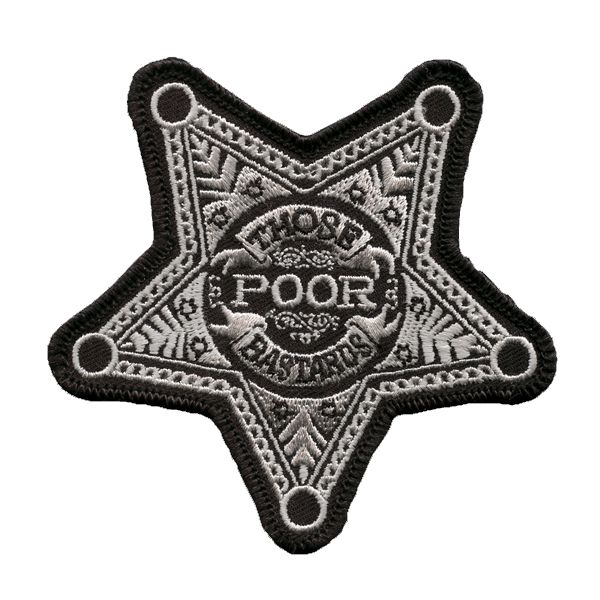 Pentagram Sheriff Patch