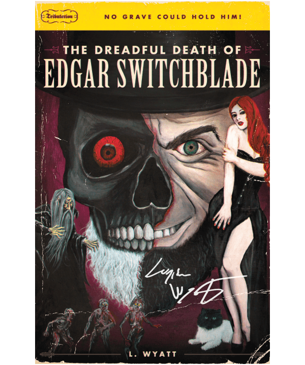 The Dreadful Death of Edgar Switchblade Signed Poster