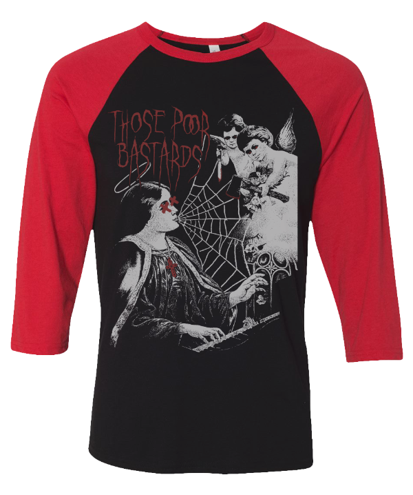 Nightmare Baseball Tee