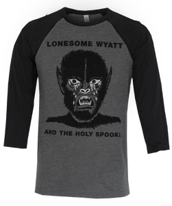 Crying Werewolf Baseball Tee