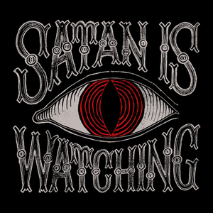 Satan Is Watching Ladies Tank