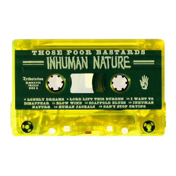 Inhuman Nature Cassette Tape