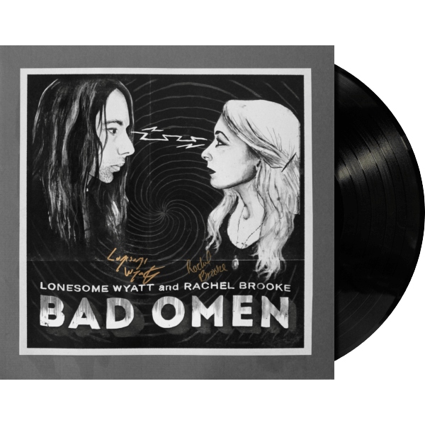 Bad Omen Vinyl Signed Test Pressing