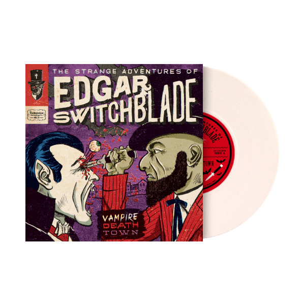 The Strange Adventures of Edgar Switchblade #3: Vampire Death Town 7""