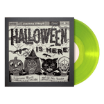 "Halloween Is Here 10"" Vinyl Signed Test Pressing"