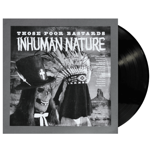 Inhuman Nature Signed Test Pressing