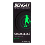 BENGAY - GREASELESS CREAM (2 OZ)