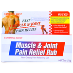 FAST MUSCLE & JOINT PAIN RELIEF  - GEL (2 OZ)