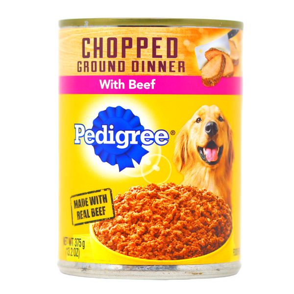 Pedigree -Ground Chopped Dinner With Beef (13.2 oz)