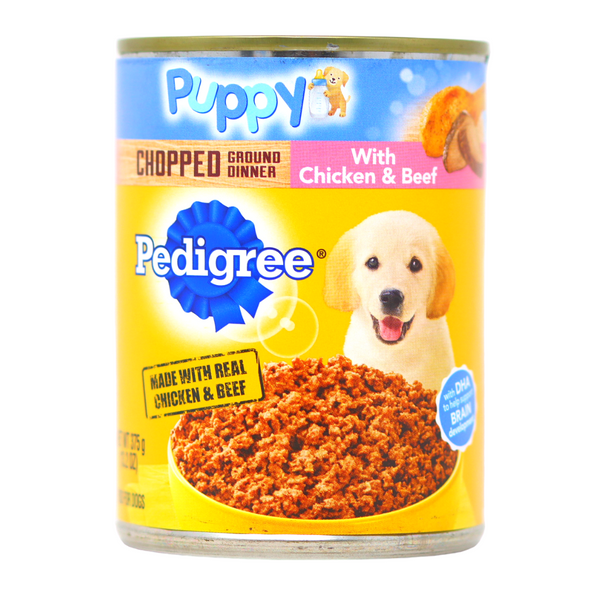 Pedigree Puppy - Ground Chopped Dinner With Chicken & Beef (13.2 oz)