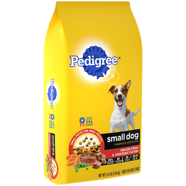 Small Dog Complete Nutrition - Grilled Steak & Vegetable Flavor (3.5 lb)