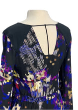 Load image into Gallery viewer, Black Leifsdottir by Anthropologie L/S Printed Dress, 4