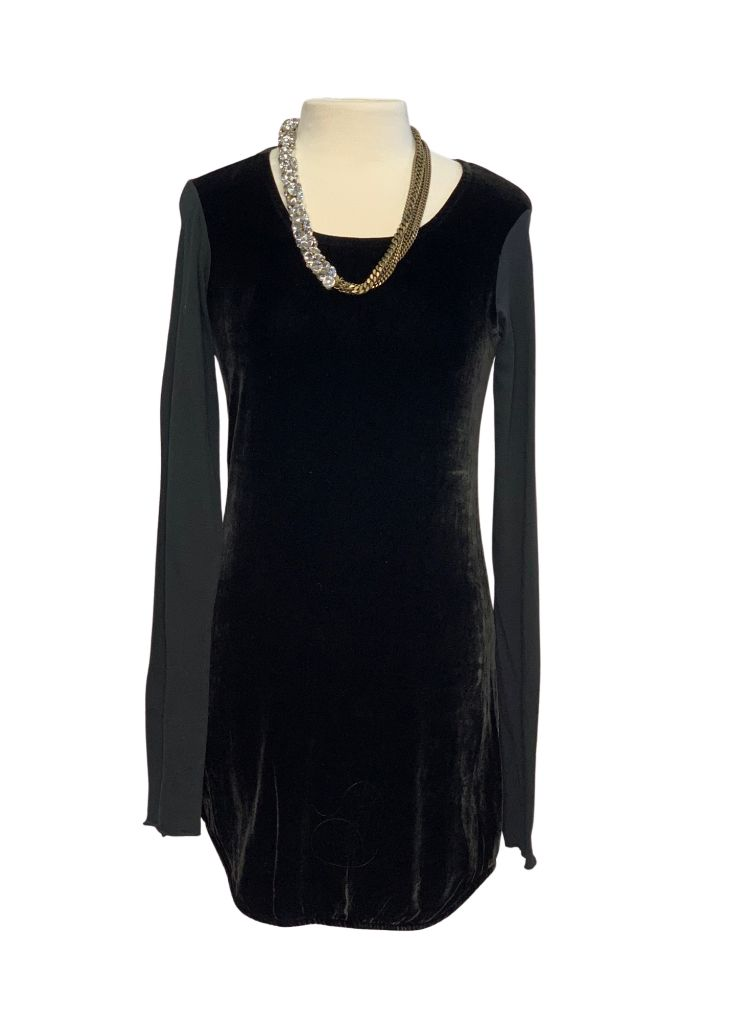 Black Anthropologie Longsleeve Dress, Small