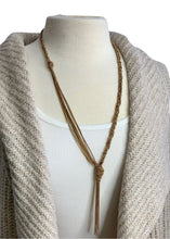 Load image into Gallery viewer, Gold BCBGMaxAzria Braided Necklace, N/S