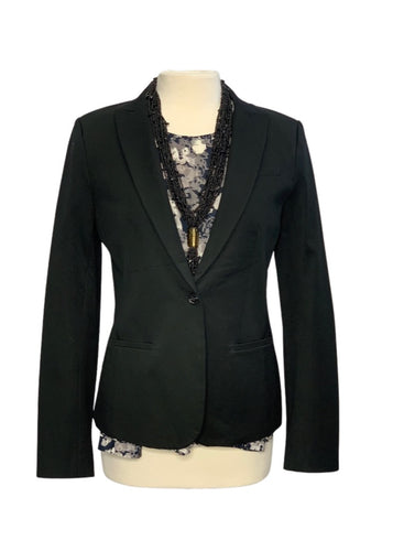 Black Banana Republic L/S Blazer, 6T