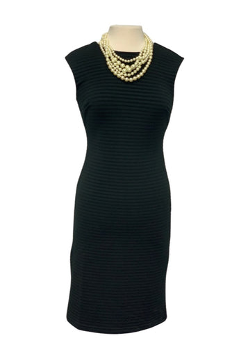 Black Banana Republic N/S Ribbed Dress, 2